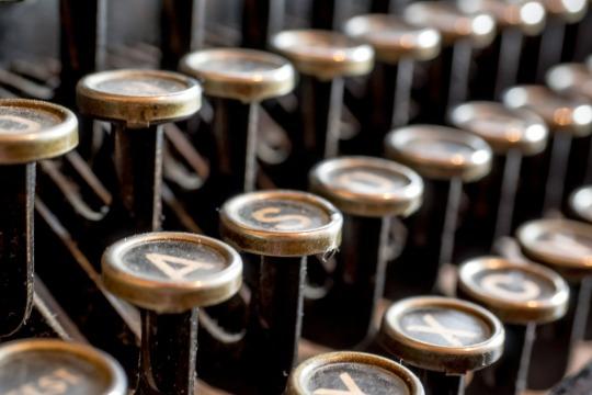 macchina da scrivere typewriter