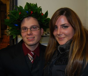 Laurea_Enrico con Sara