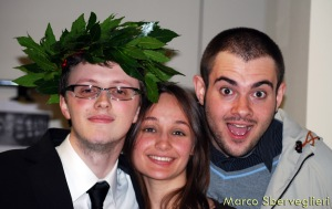 Io, Ambra e Nos Laurea Marco 30-04-2009