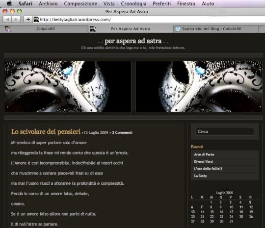 Per Aspera ad Astra: the new Betty blog