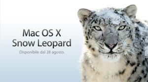 Snow Leopard è arrivato