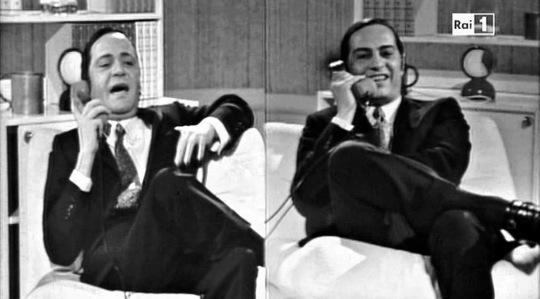 Alighiero Noschese e Nino Manfredi