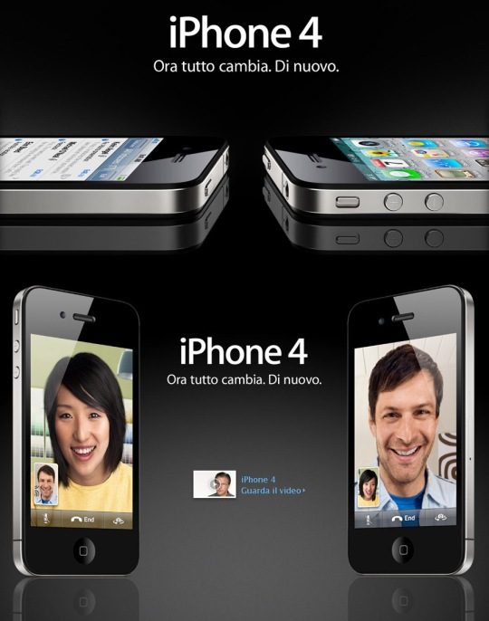 Apple iPhone e iOS 4