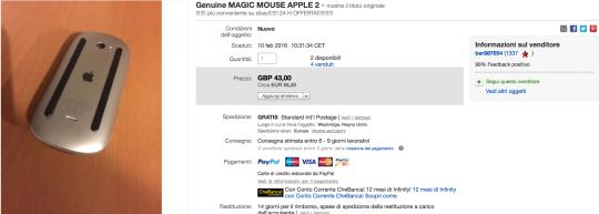 eBay_Magic Mouse 2